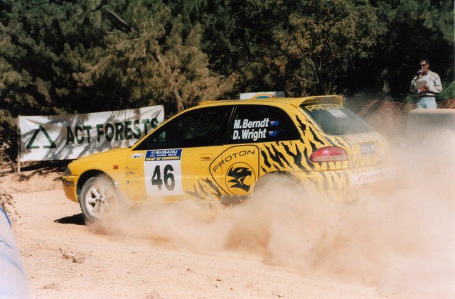 Doug and Marko Rally of Canberra 2002
