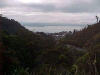 +020419 16 Rally view of Hobart from Mount Nelson Targa Tas